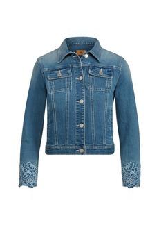 Ralph Lauren Embroidered Denim Jacket