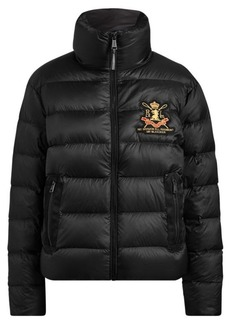Ralph Lauren Embroidered Down Jacket