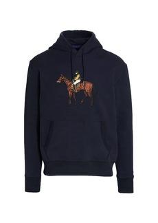 Ralph Lauren Embroidered Horse Hoodie