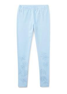 Ralph Lauren Embroidered Jersey Legging