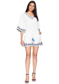 Ralph Lauren Embroidered Linen Romper