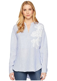 Ralph Lauren Embroidered Linen Shirt
