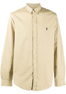 Ralph Lauren embroidered logo cotton shirt