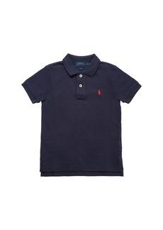 Ralph Lauren Embroidered Logo Piquet Polo Shirt
