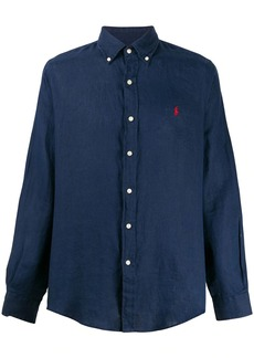 Ralph Lauren embroidered logo slim-fit shirt