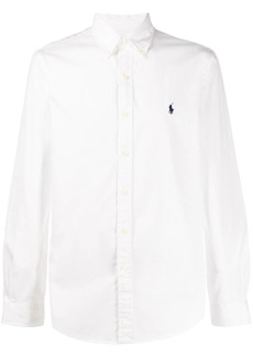Ralph Lauren embroidered-logo slim shirt
