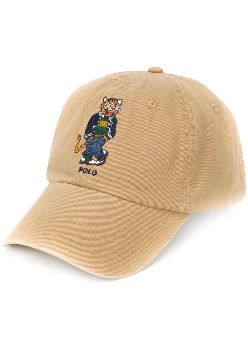 Ralph Lauren embroidered logo sport cap