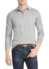 Ralph Lauren Embroidered Long-Sleeve Polo Shirt