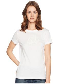 Ralph Lauren Embroidered Monogram T-Shirt