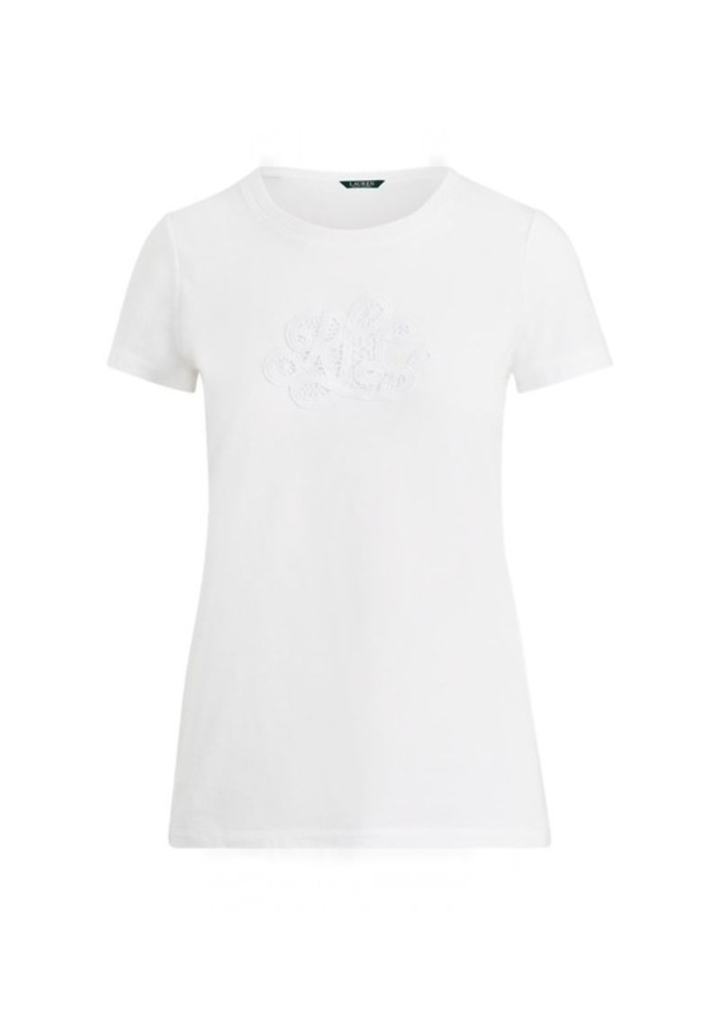 6d22627fc2d92 Embroidered Monogram T-Shirt