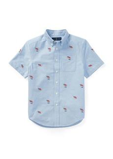 Ralph Lauren Embroidered Oxford Shirt