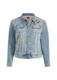 Ralph Lauren Embroidered Patch Denim Jacket