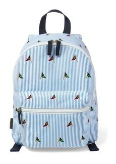 Ralph Lauren Embroidered School Backpack
