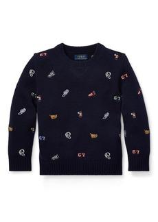 Ralph Lauren Embroidered Sweater