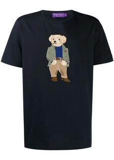 Ralph Lauren embroidered teddybear logo T-shirt