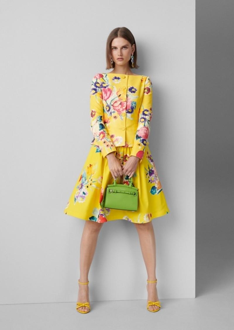 Ralph Lauren Emilia Floral Cotton Skirt
