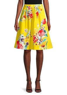 Ralph Lauren Emilia Floral Skirt