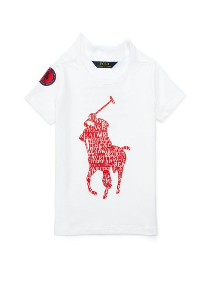 English Literacy Tee. Ralph Lauren