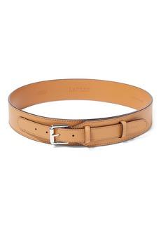 Ralph Lauren Equestrian Leather Belt
