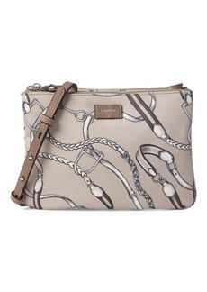 Ralph Lauren Equestrian Nylon Crossbody Bag