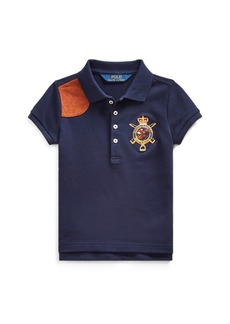 Ralph Lauren Equestrian Stretch Mesh Polo
