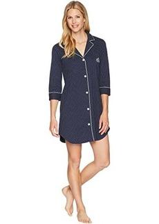 Ralph Lauren Essentials Bingham Knits Sleep Shirt