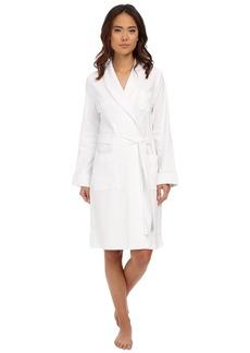 Ralph Lauren Essentials Quilted Collar and Cuff Robe