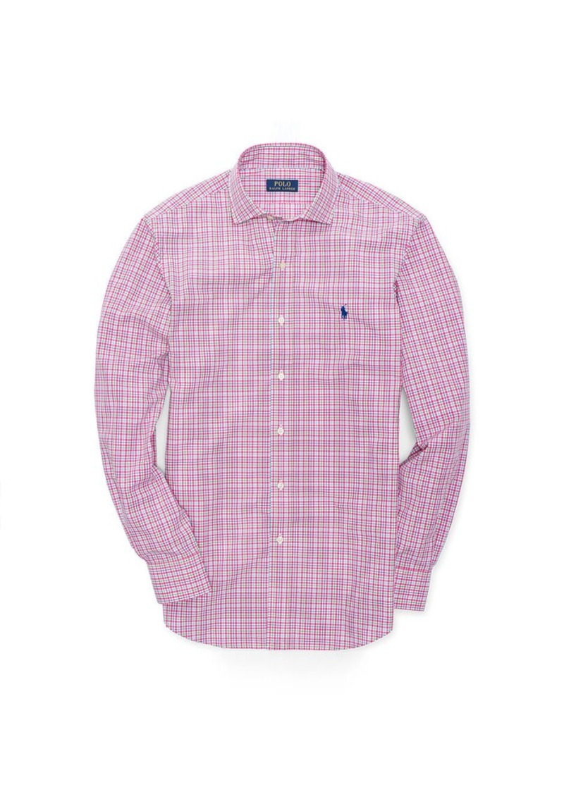 Ralph Lauren Estate Checked Poplin Shirt