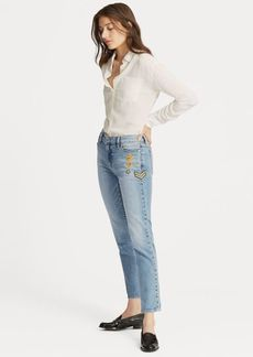 Ralph Lauren Estate Crop Jean