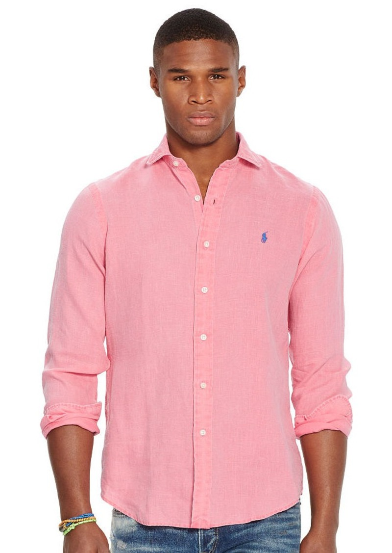 Ralph Lauren Estate Linen Sport Shirt