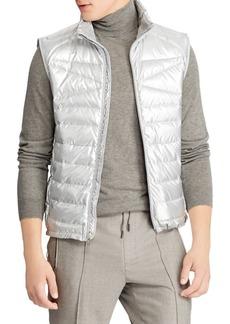 Ralph Lauren Explorer Metallic Puffer Vest