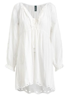 Ralph Lauren Eyelet Cotton Cover-Up