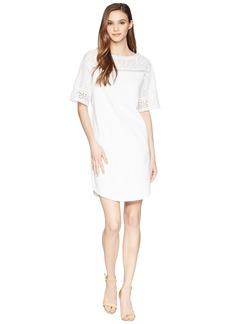 Ralph Lauren Eyelet Jersey Dress