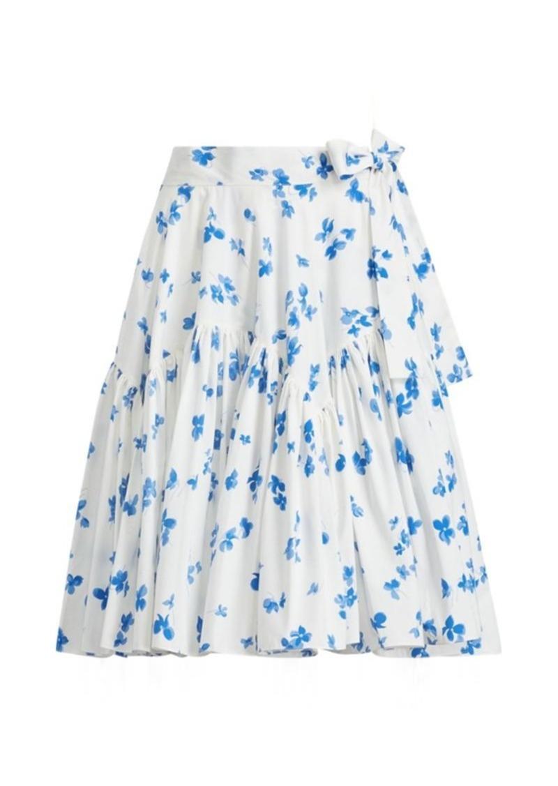 cbbd682420 Ralph Lauren Fabian Floral Cotton Skirt   Skirts