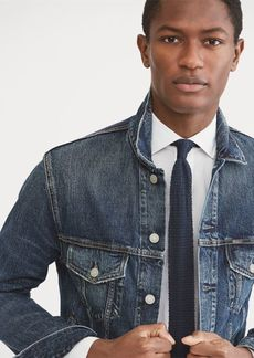 Ralph Lauren Faded Denim Trucker Jacket