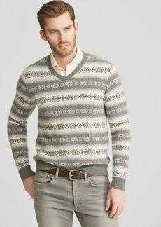 Ralph Lauren Fair Isle Cashmere Sweater