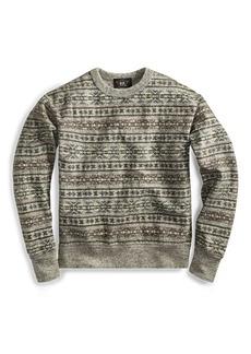 Ralph Lauren Fair Isle Cotton Pullover