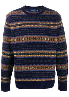 Ralph Lauren Polo fair isle knit jumper