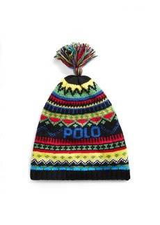 Ralph Lauren Fair Isle Wool-Blend Hat