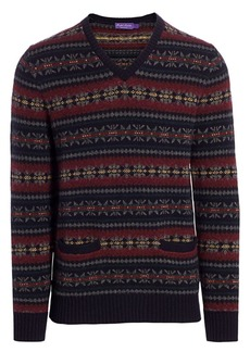 Ralph Lauren Fair Isle Wool Sweater