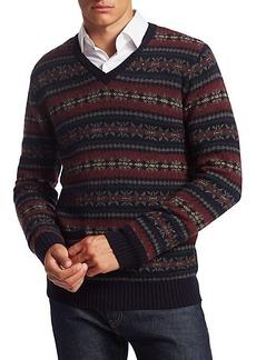 Ralph Lauren Fair Isle Wool Sweater