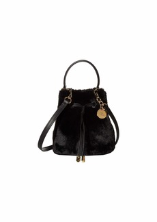 Ralph Lauren Faux Fur Debby III Drawstring Mini