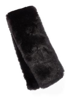 Ralph Lauren Faux-Fur Pull-Through Scarf