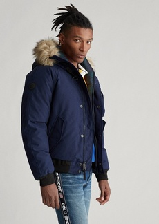 Ralph Lauren Faux-Fur-Trim Down Jacket