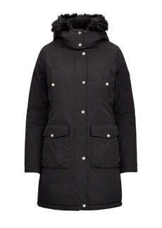 Ralph Lauren Faux-Fur-Trim Hooded Coat