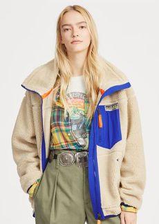 Ralph Lauren Faux-Shearling Zip Jacket