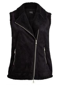 Ralph Lauren Faux-Shearling Zip Vest