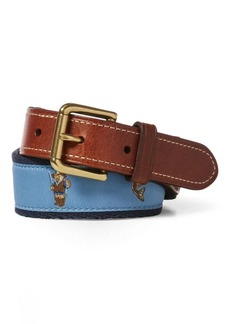 Ralph Lauren Fishing Polo Bear Belt