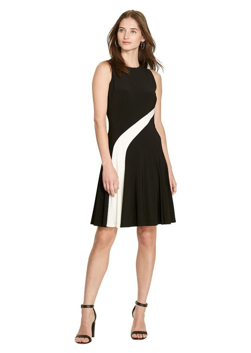 Ralph Lauren Fit-and-Flare Jersey Dress