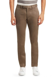 Ralph Lauren Fitted Cotton Pants